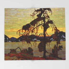 Tom Thomson - The Jack Pine Throw Blanket
