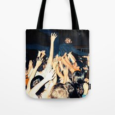 Stage Diving Tote Bag