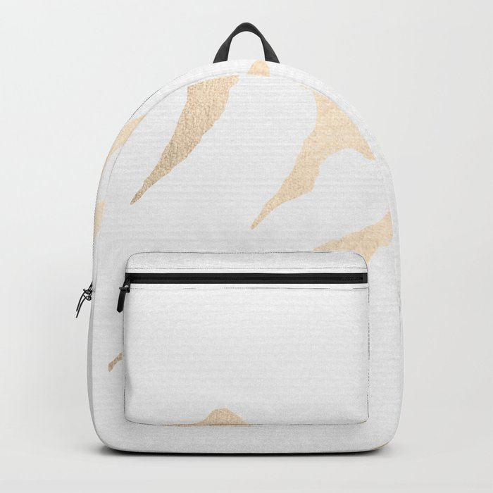 Adventure White Gold Mountains Backpack