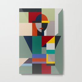 NAMELESS WOMAN Metal Print