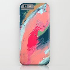 Snow Day 1 - colorful acrylic abstract Slim Case iPhone 6s