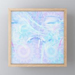 Delicate fairy world Framed Mini Art Print
