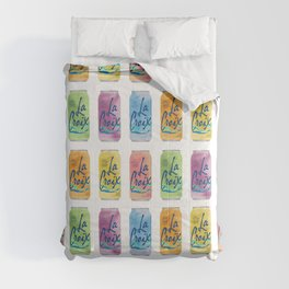 La Croix Illustration Comforters
