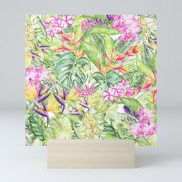 Tropical Garden 1A #society6 Mini Art Print