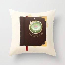 Occultism Throw Pillow