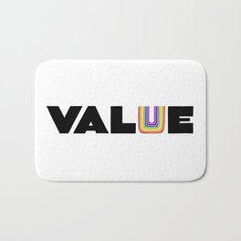 VALUE  (U have it!) Bath Mat