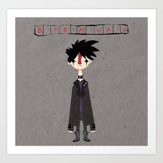 """""""Bimbiminkia"""" - Dark Art Print"""