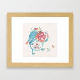 Comer Framed Art Print