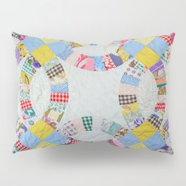 Colorful quilt pattern Pillow Sham