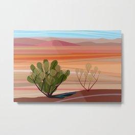 Mojave Desert (Horizontal) Metal Print