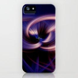 contorquens flamine robur twirls iPhone Case
