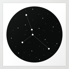 Zodiac - CANCER Art Print