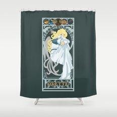 Odette Nouveau - Swan Princess Shower Curtain