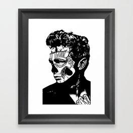James Dean. Rebel: Zombie. Framed Art Print