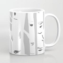 Gray Birches Coffee Mug