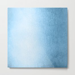 Blue Raspberry Shimmer Metal Print