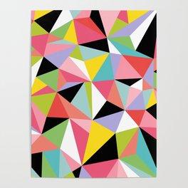 Geometric Jane Poster