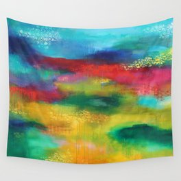 Silence on court, silence we run Wall Tapestry