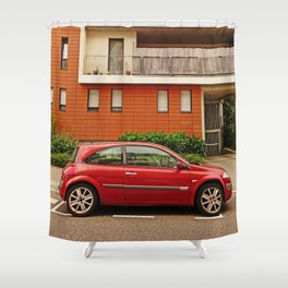 Renault Megane Coupe - The Remanent Gladiator Shower Curtain