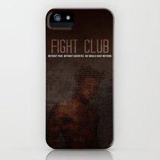 Fight Club  iPhone (5, 5s) Slim Case