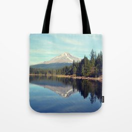 Mount Hood Trillium Lake Oregon Tote Bag