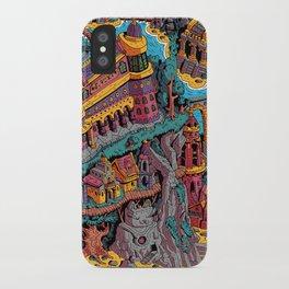 Mumbo Jumbo City (Color) iPhone Case