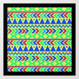 Tribal Motif Art Print