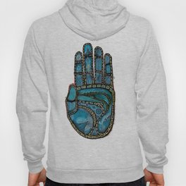 The Hand Of (Free)Time Hoody