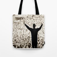 concert Tote Bags featuring concert by fscVisuals