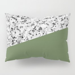 Granite and Kale Color Pillow Sham