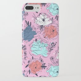Penelope Peonies iPhone Case