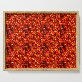 Fire for decorative products Serving Tray