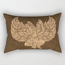 Garuda Batik Brown I Rectangular Pillow