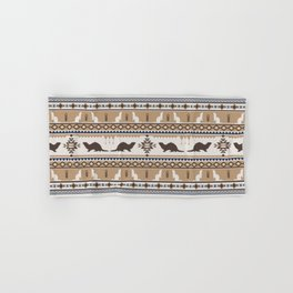 Boho Animals | Ferret tan Hand & Bath Towel