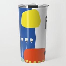 Fika Collage Travel Mug