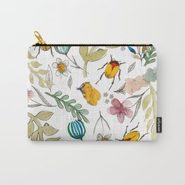 Undergrub and Petals Carry-All Pouch
