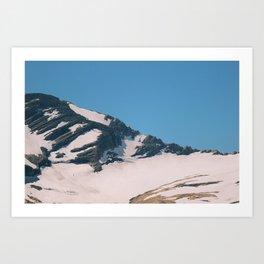 glacier ntl park part 1 Art Print