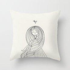 Rapunzel Throw Pillow