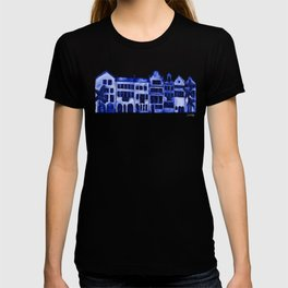 Row of Houses – Navy Palette T-shirt