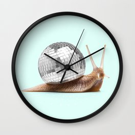 DISCO SNAIL Wall Clock