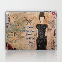 Write your own story Laptop & iPad Skin