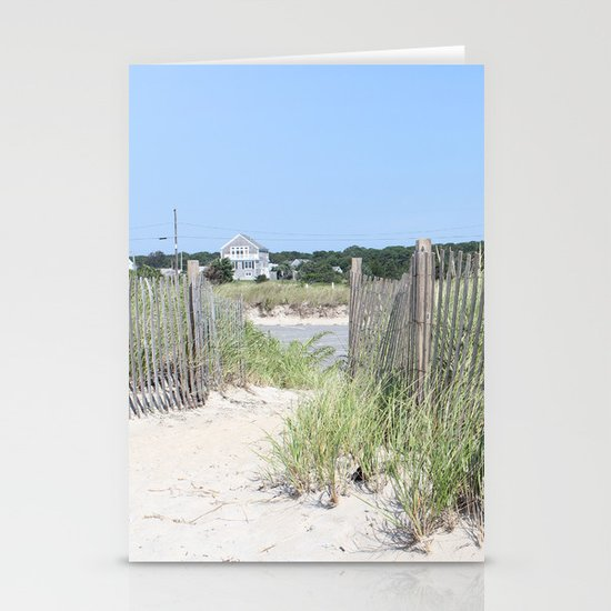 Beach Path Stationery Cards