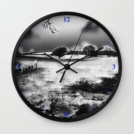 Escape By Moonlight Wall Clock