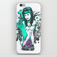 day of the dead iPhone & iPod Skins featuring Day of the dead by Tshirt-Factory