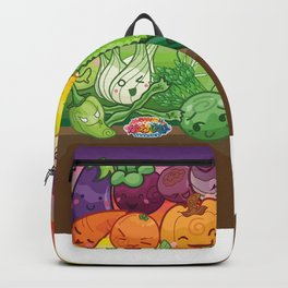 Kawaii Universe - Cute Amazing Alphabet Fruits and Veggies Backpack