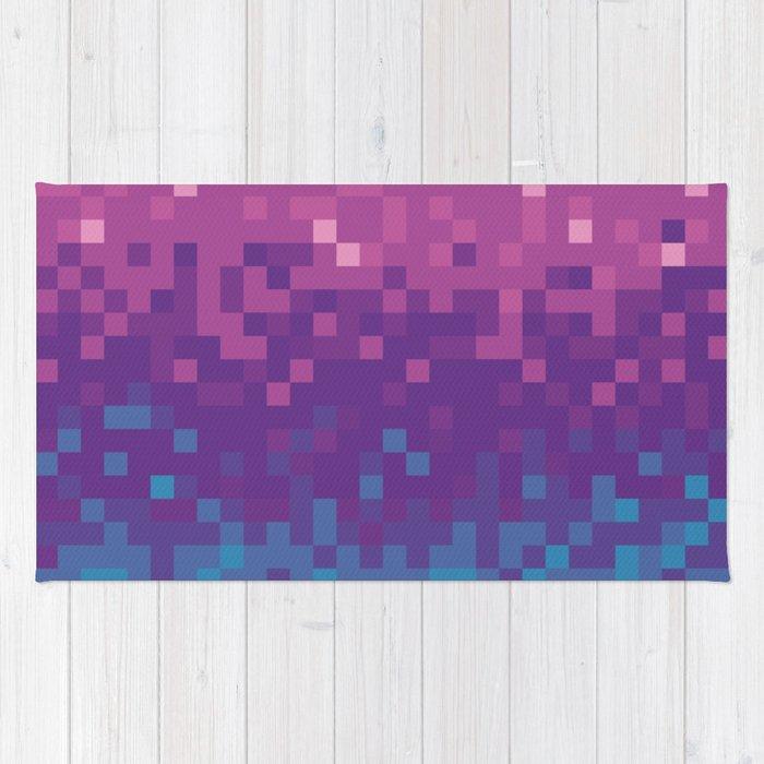 Pixel color Rug