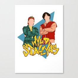 Bill and Ted Wyld Stallyns Canvas Print