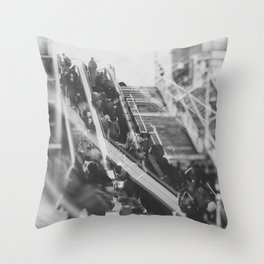 street photo UP AND DOWN #street #streetphoto Throw Pillow