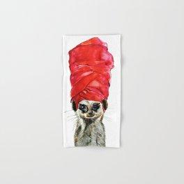 Red Turban Hand & Bath Towel