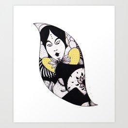 Blower Spirit 2 Art Print